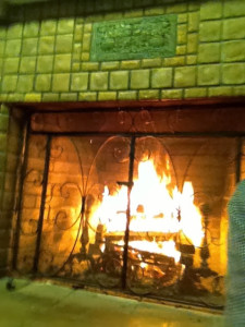 El Segundo Christian Church fireplace