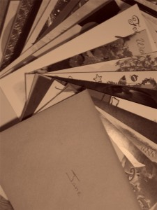 Photo of letters and cards