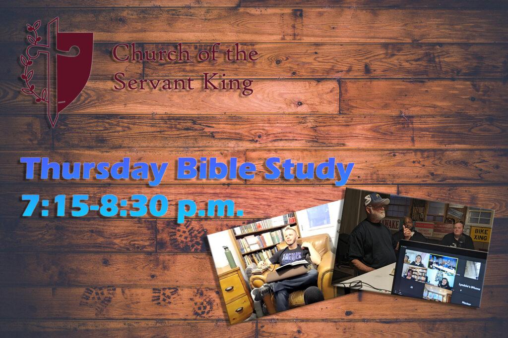 Thursday Bible Study Graphic